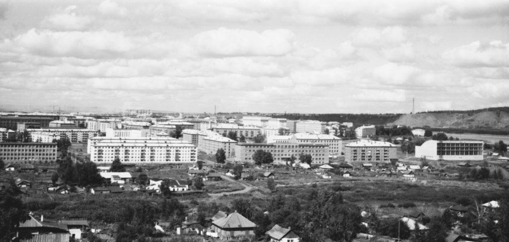 Панорама города, 1970 г.