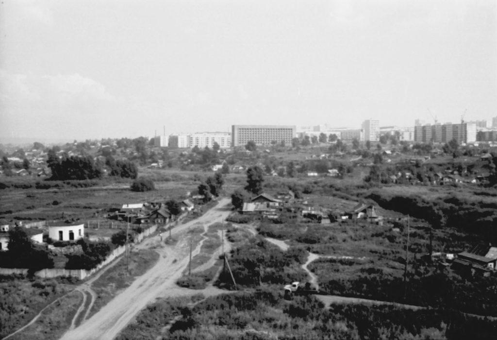 Заискитимская часть города, 1973 г.