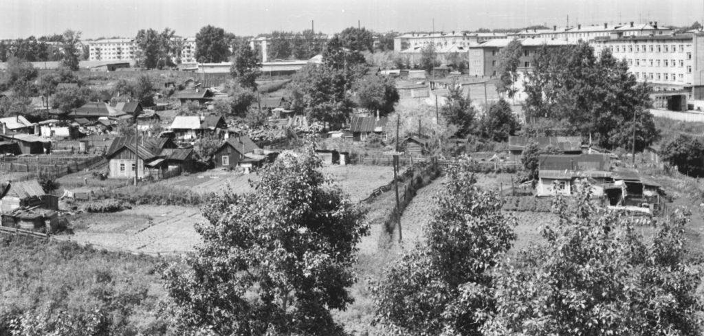 Панорама ул. Мичурина, 1978 г.