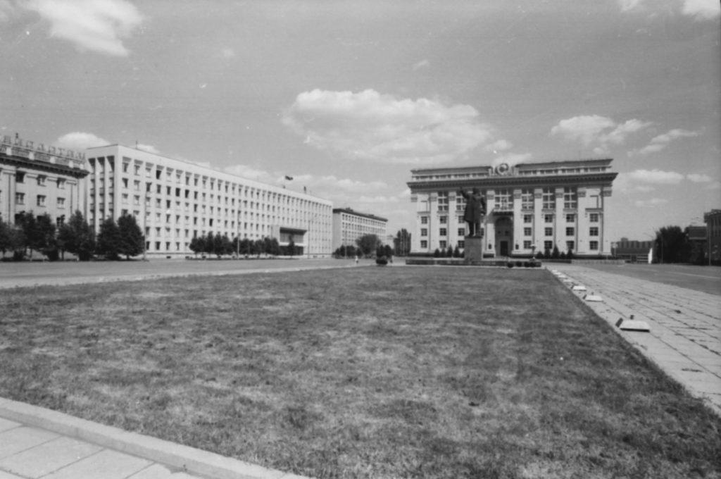 Площадь Советов, 1978 г.