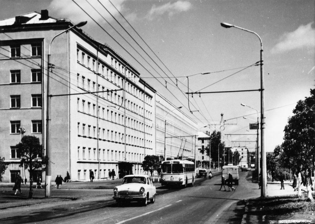 Улица 50 лет Октября, 1976 г.