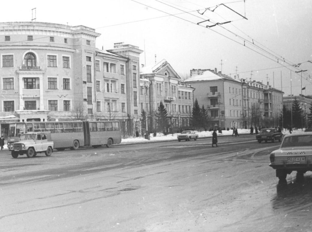 Советский проспект, 1984 г.