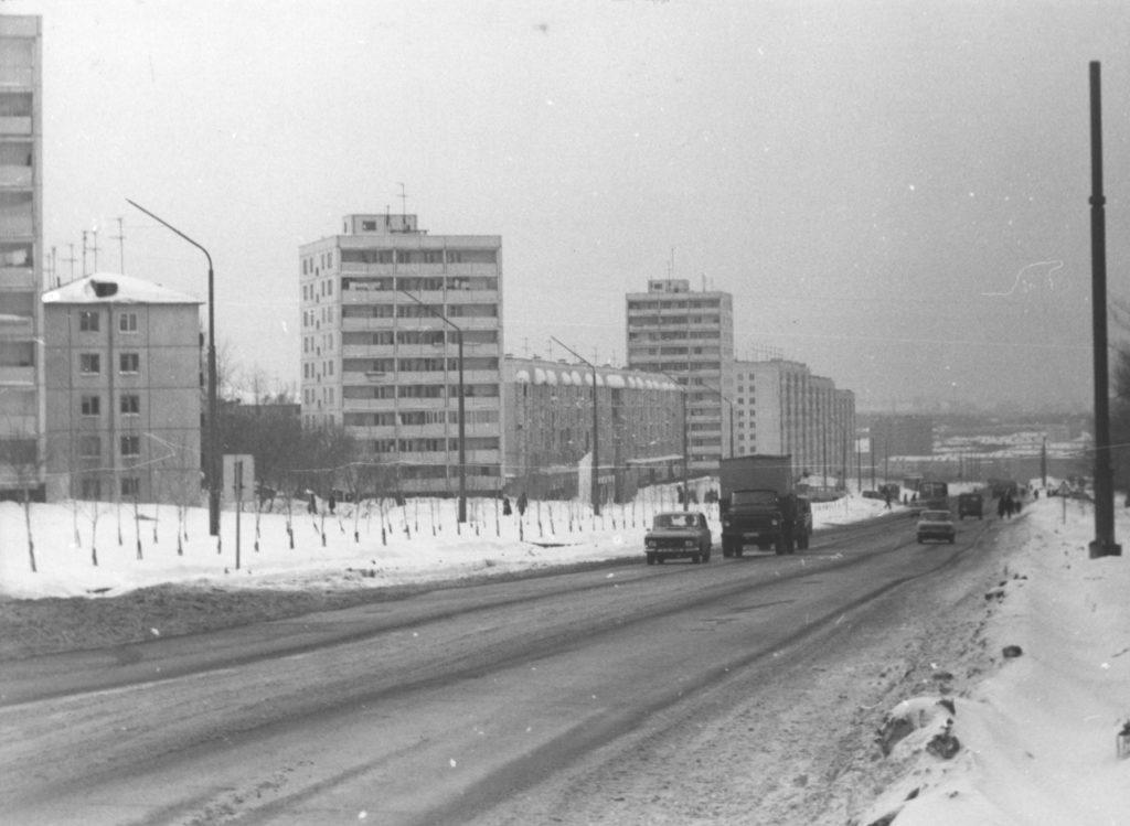Октябрьский проспект, 1984 г.