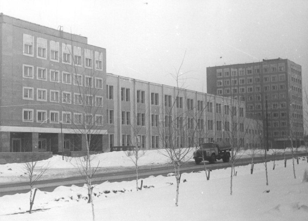 Полиграфический комплекс издательства Кузбасс, 1984 г.