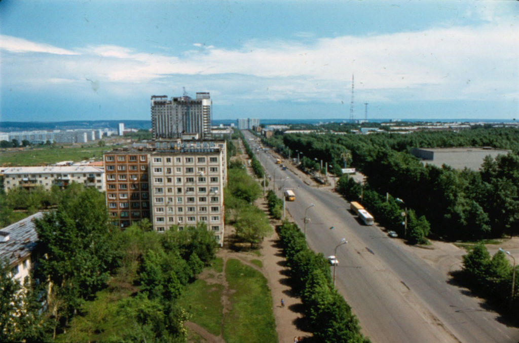 Проспект Ленина, 1985 г.