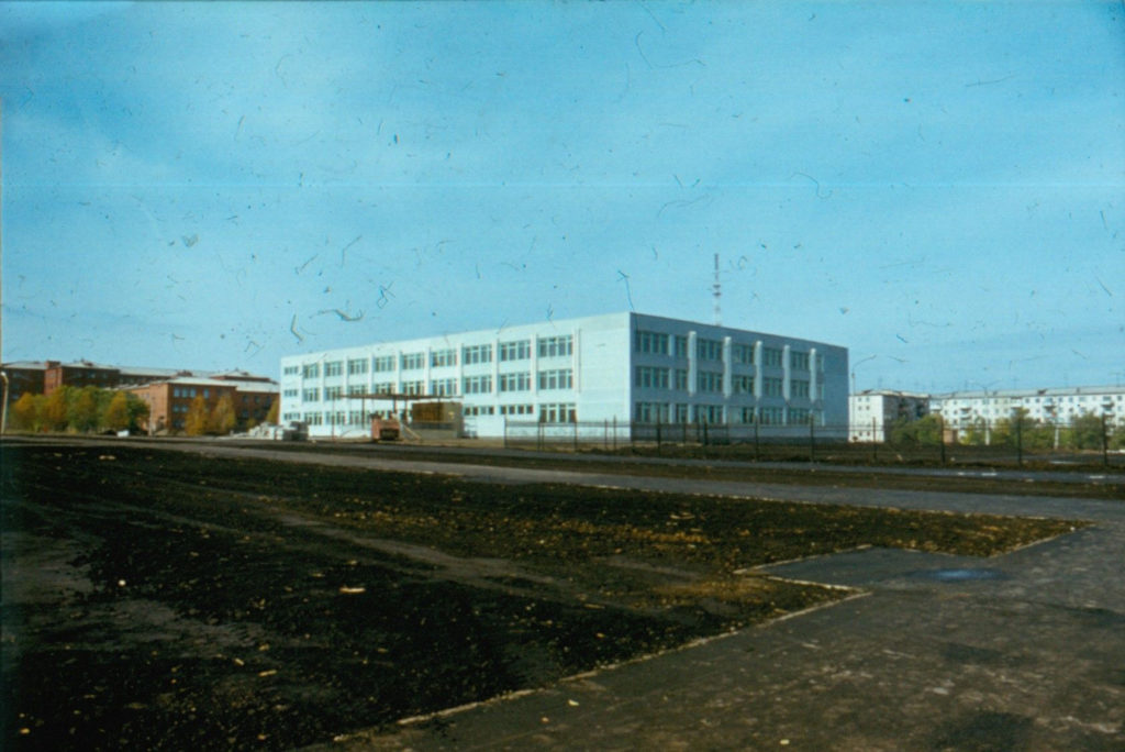 Дом пионеров Ленинского района, 1986 г.