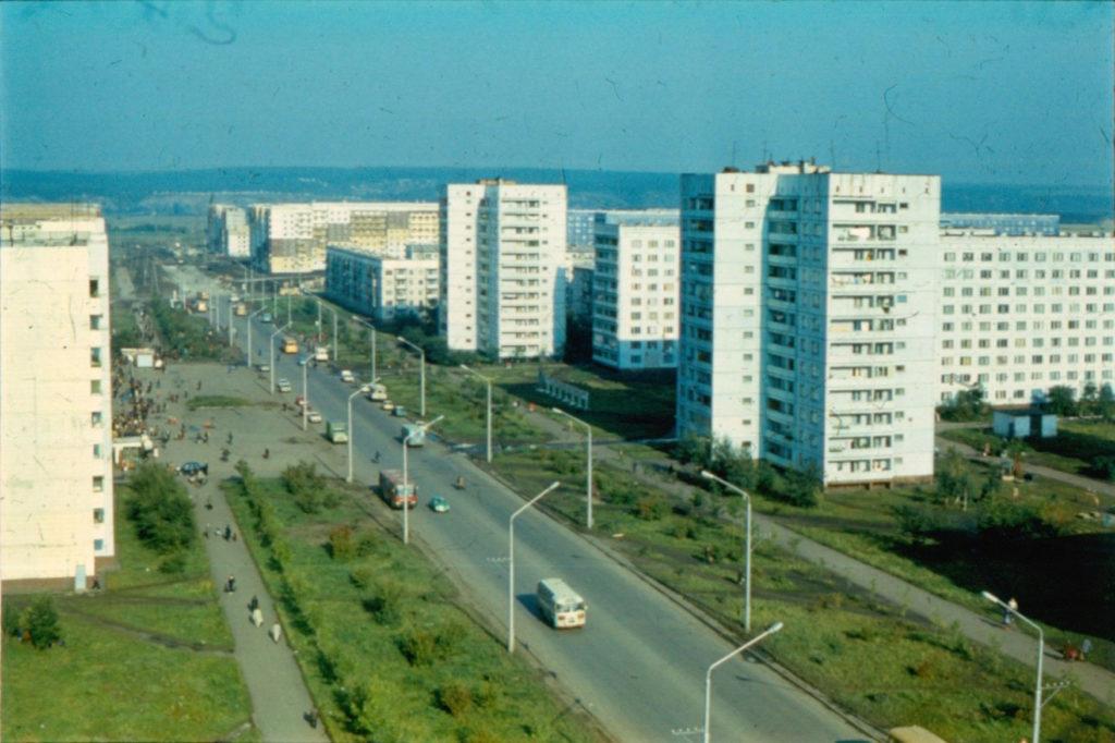 Проспект Октябрьский, 1986 г.
