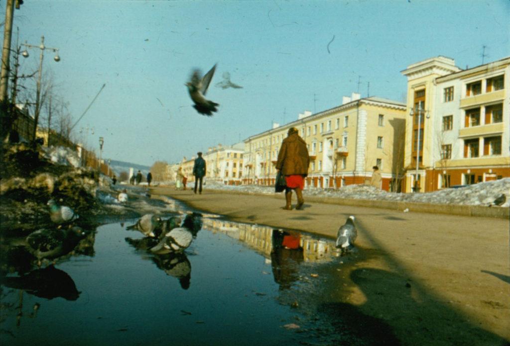 Улица Весенняя, 1986 г.