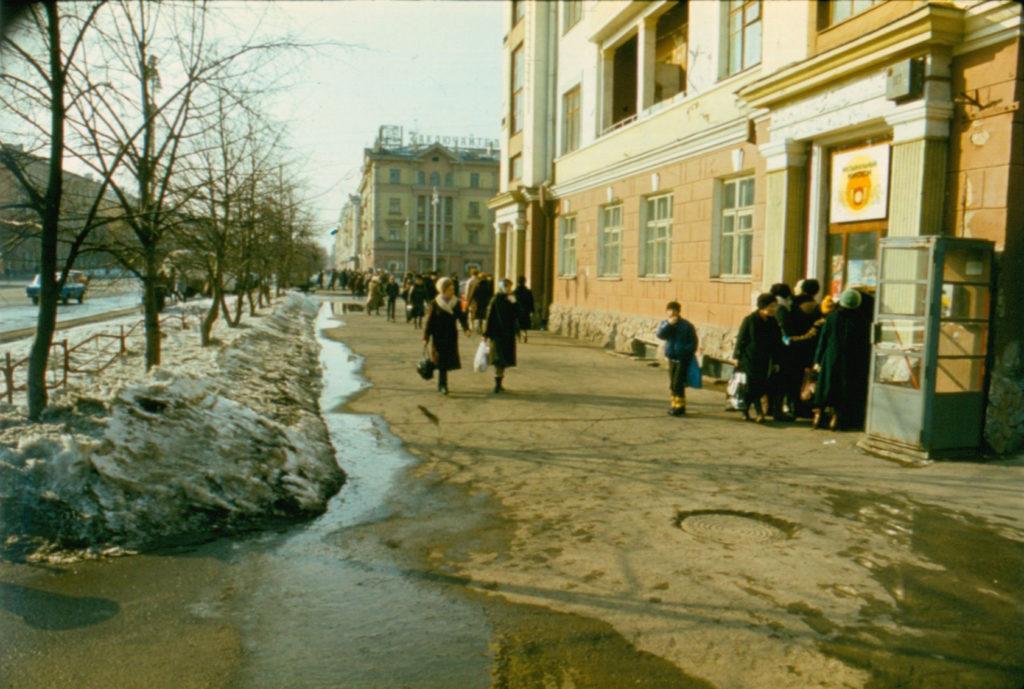 Проспект Советский, 1986 г.
