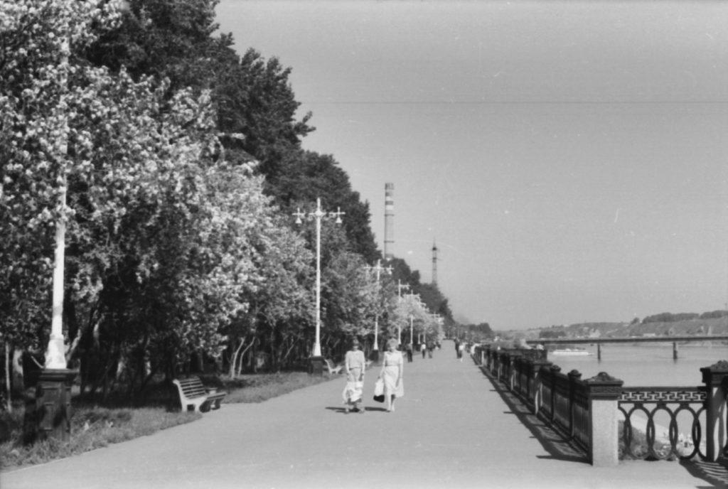 Притомская набережная, 1980 г.