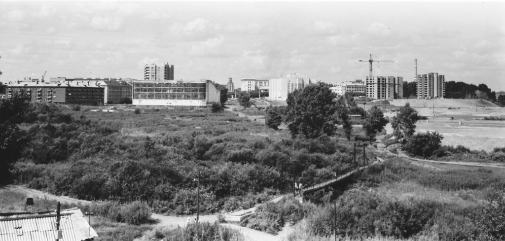 Панорама города, 1983 г.