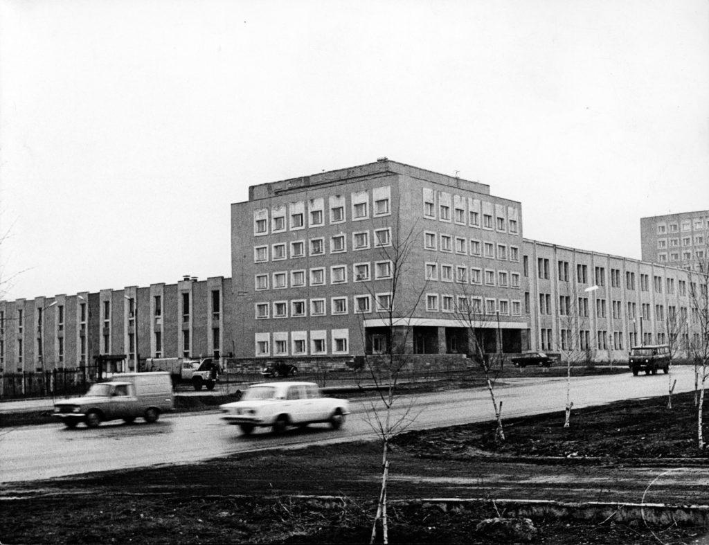 Типография редакции газеты Кузбасс (на пр. Октябрьском), 1986 г.