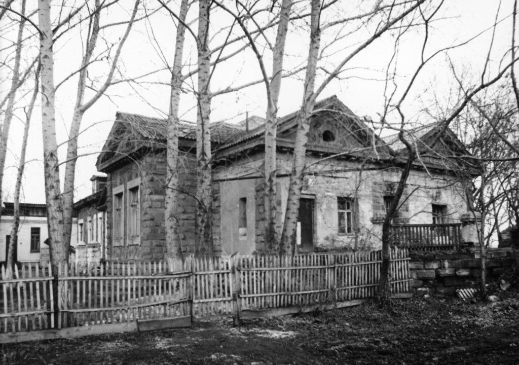 Штаб квартира Рутгерса. ул. Красная Горка, 17, 1986 г.