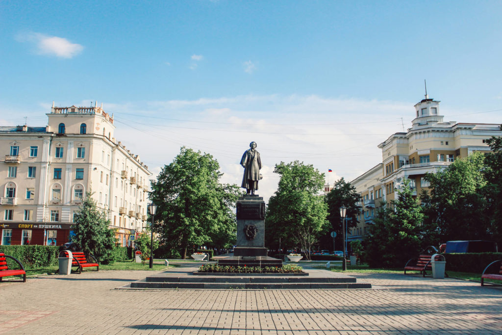 Площадь Пушкина, 2017 г.