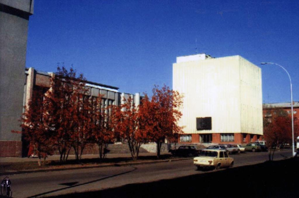 Государственный архив Кемеровской области. Здание на ул. Красной, 7, 2003 г.