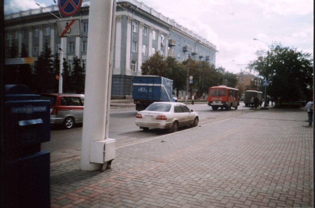 Улица 50 лет Октября, 2004 г.