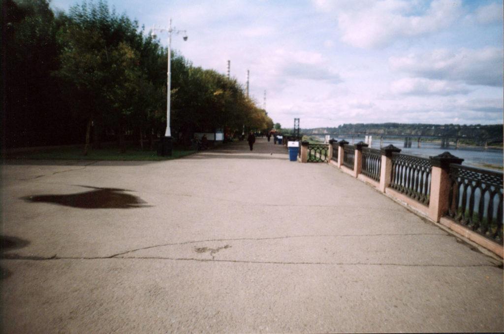 Набережная р.Томь, 2004 г.